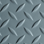 Slate Gray Diamond Plate