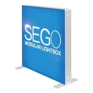3' x 3' SEGO Modular Lightbox Exhibit Backlit Display With SEG Fabric Graphics