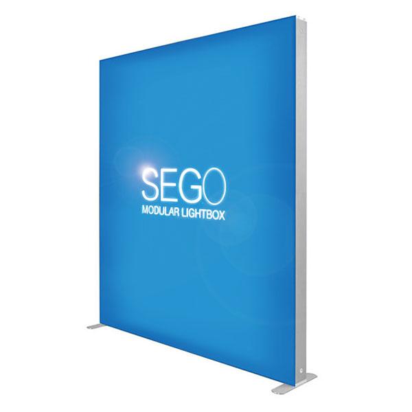 7′ x 7′ SEGO Modular Lightbox Exhibit Display