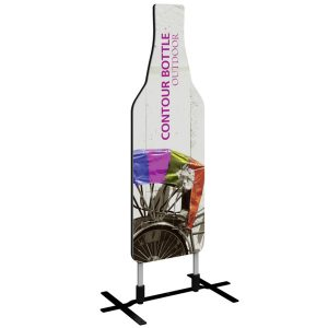 Contour Bottle Outdoor Sign