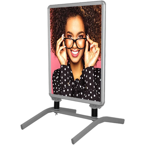 Indoor Snap Frame with Metal Base