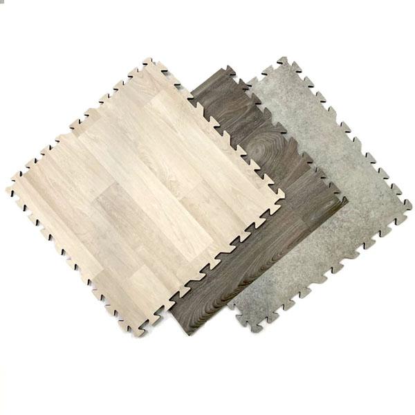 Luxury Vinyl Interlocking Tiles
