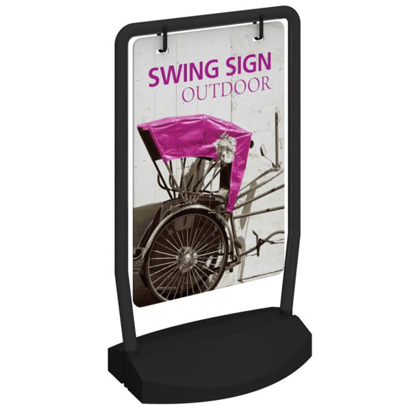 outdoor swing sign