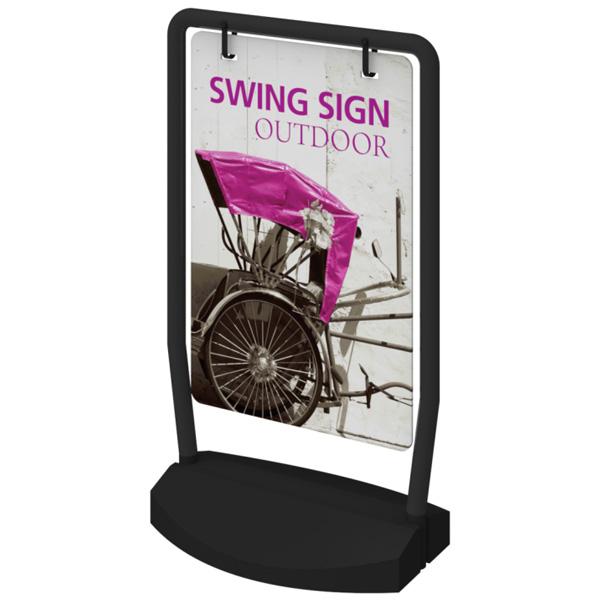 outdoor swing sign