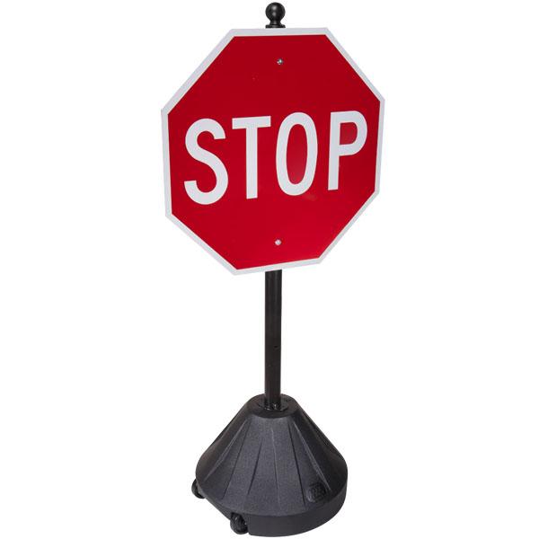 Portable Pole 2 Rolling Sidewalk Sign