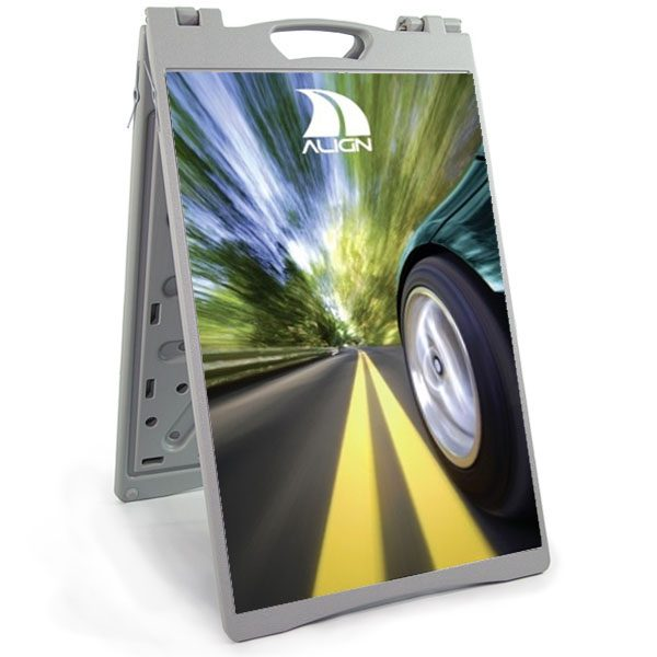 PVC A Frame Sign Stand