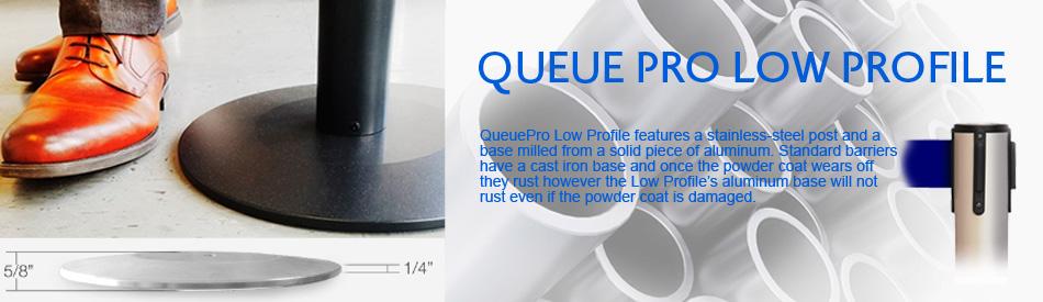 queue pro low profile