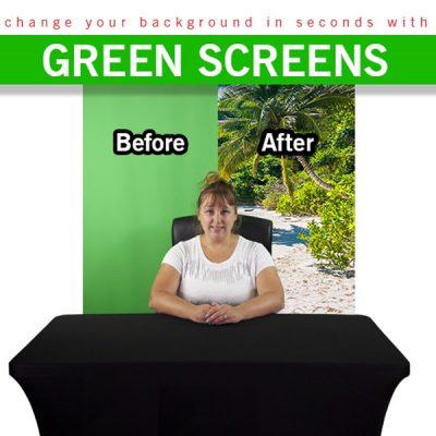 Retractable Green Screen