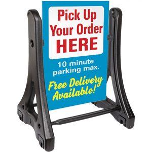 rolling sidewalk swinger plus signs