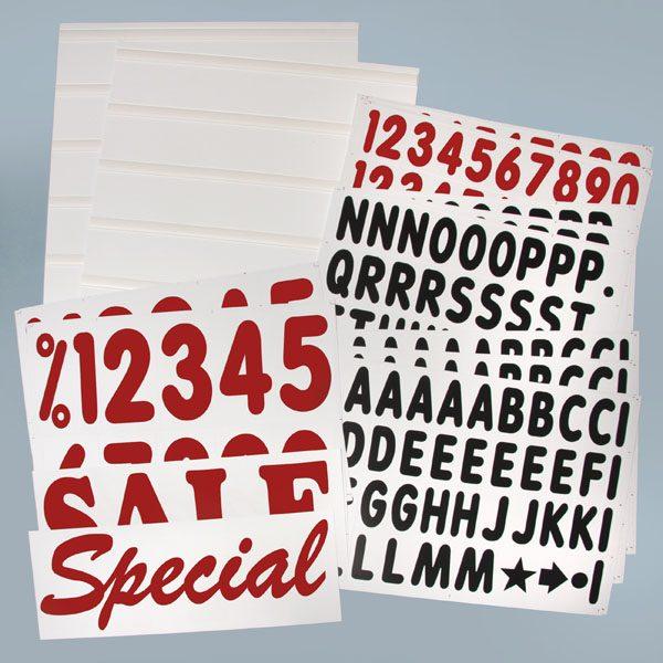 Rolling Sidewalk Message Board Letters