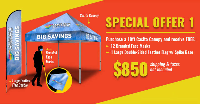 Special Offer 1 Tent