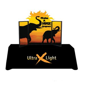 Ultralight X24 Tabletop Display Kit