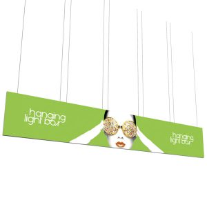 Vector Frame Hanging Light Box 30' x 5'