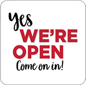 We Are Open 4
